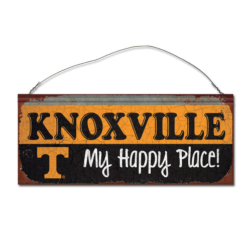 University of Tennessee Happy Place Sign