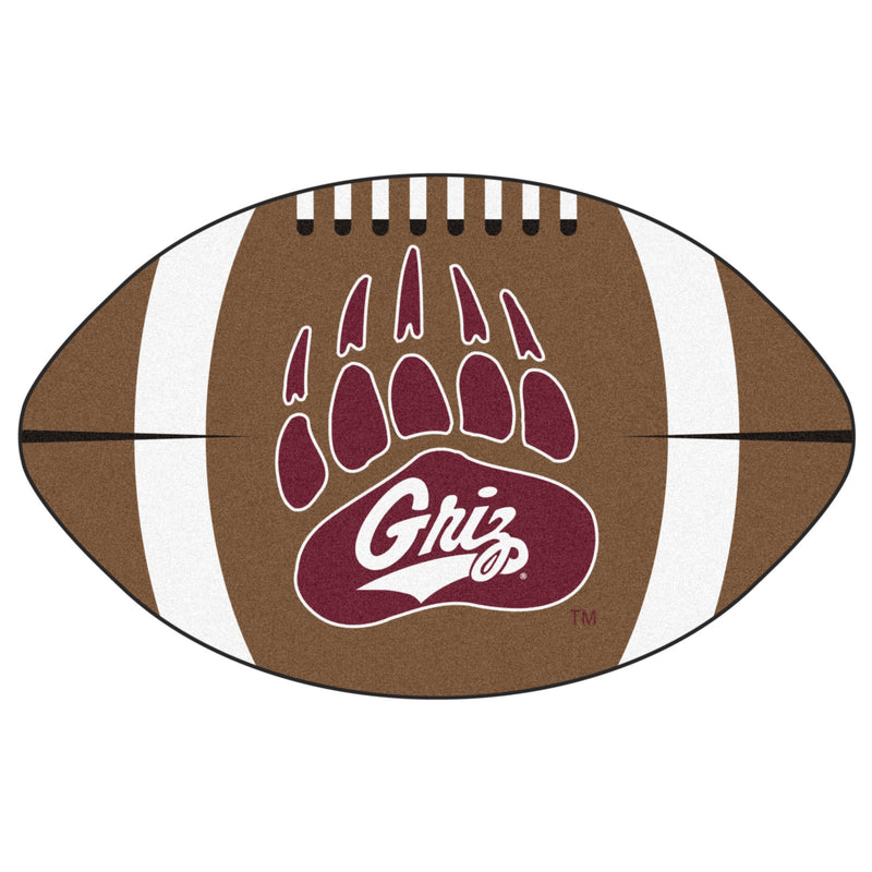 University of Montana Football Area Rug