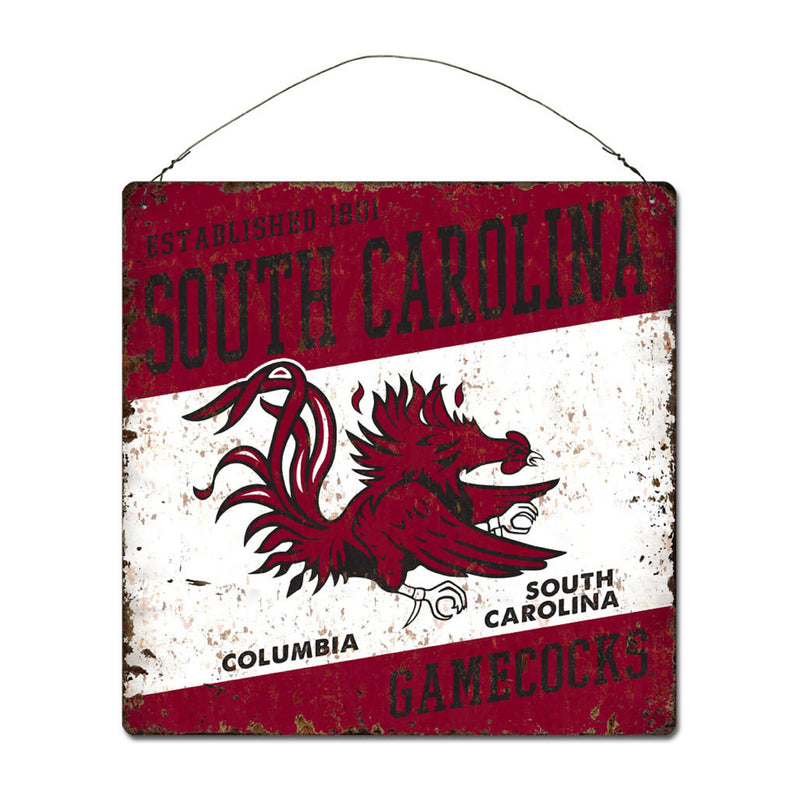 University of South Carolina Large Tin 'Established' Sign