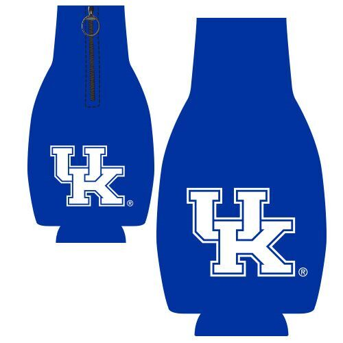 University of Kentucky Zipper Bottle Hugger Blue