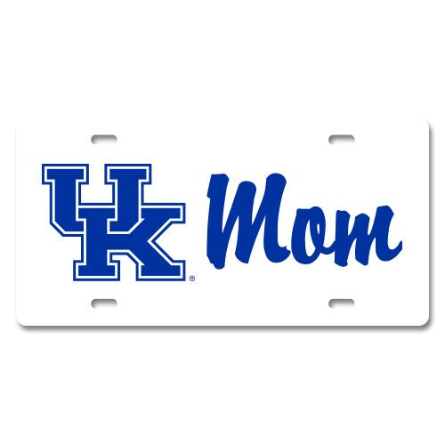 University of Kentucky UK Mom License Plate