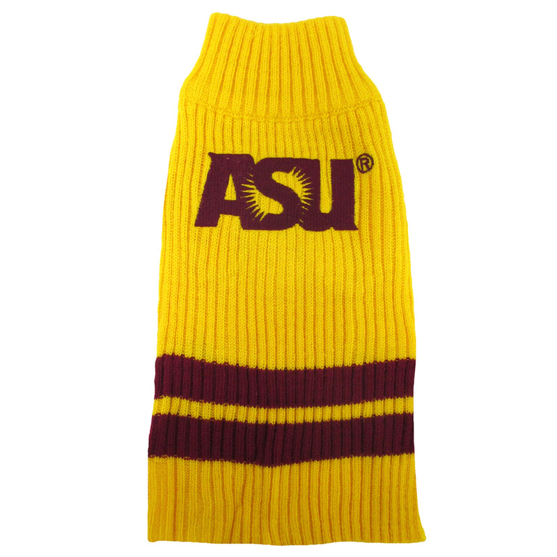 Arizona State University Knitted Turtleneck Pet Sweater