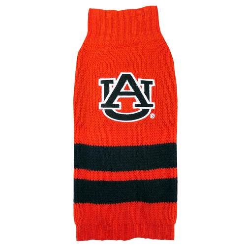Auburn University Knitted Turtleneck Pet Sweater