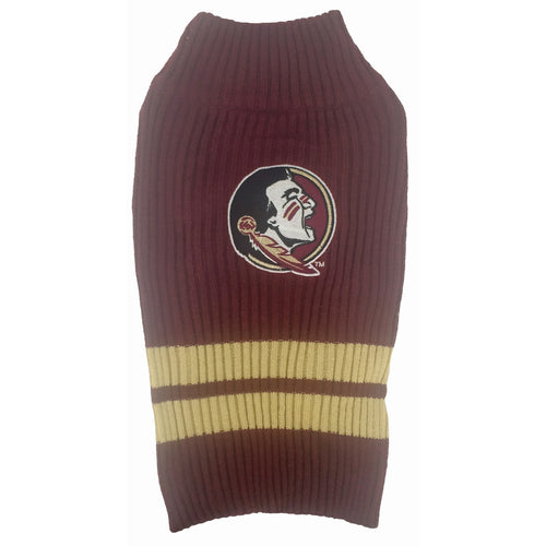 Florida State University Knitted Turtleneck Pet Sweater