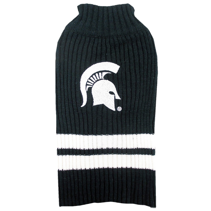 Michigan State University Knitted Turtleneck Pet Sweater