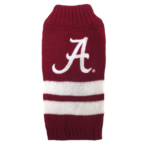 University of Alabama Knitted Turtleneck Pet Sweater