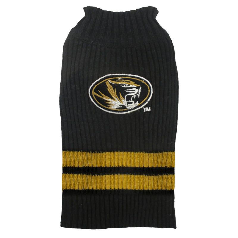 University of Missouri Knitted Turtleneck Pet Sweater