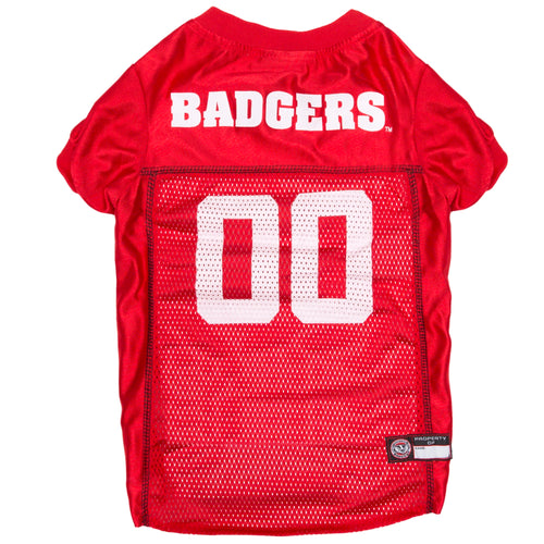University of Wisconsin Mesh Football Jersey