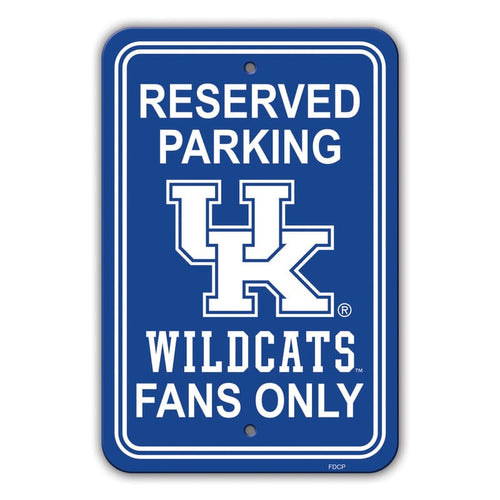 University of Kentucky Parking Sign