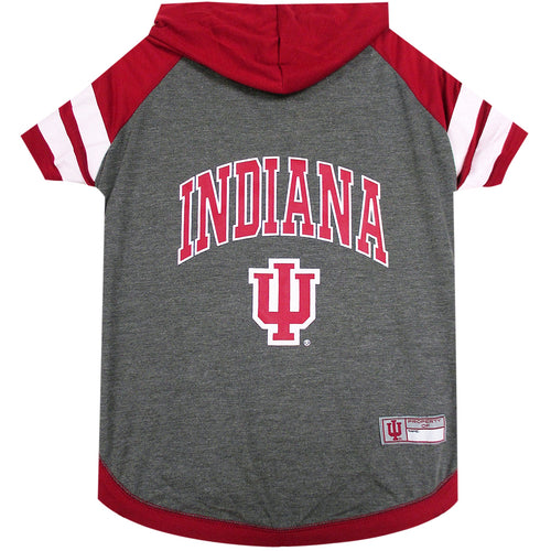 Indiana University Doggy Hooded Tee-Shirt