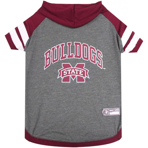Mississippi State University Doggy Hooded Tee-Shirt