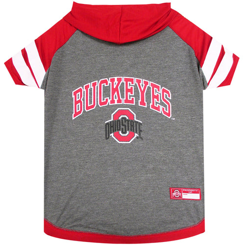 Ohio State University Doggy Hooded Tee-Shirt