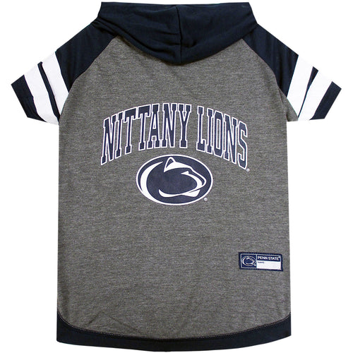 Penn State University Doggy Hooded Tee-Shirt