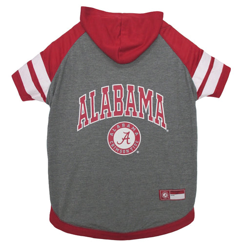 University of Alabama Doggy Hooded Tee-Shirt (Medium)