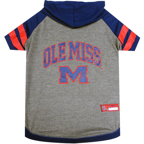University of Mississippi Doggy Hooded Tee-Shirt