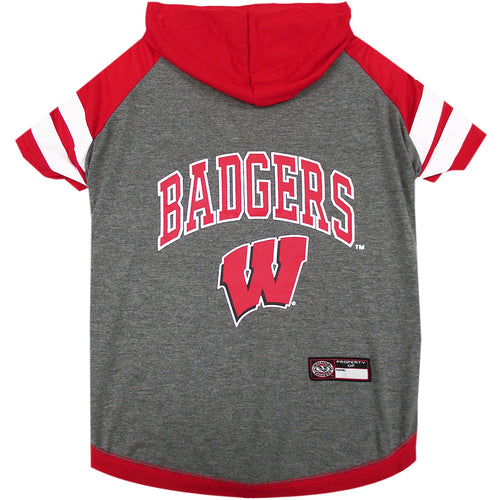 University of Wisconsin Doggy Hooded Tee-Shirt