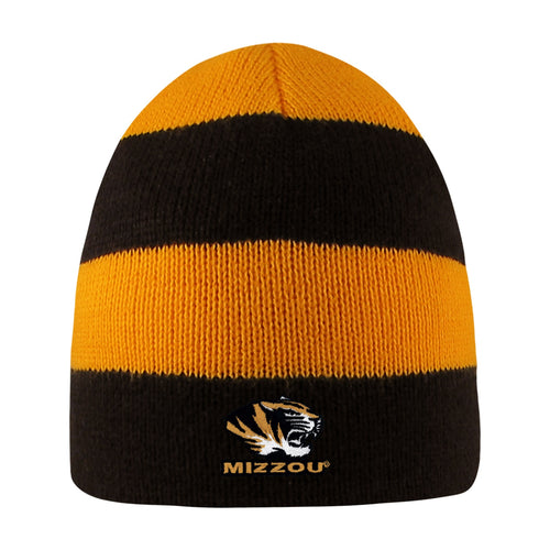 University of Missouri Rugby Striped Knit Beanie