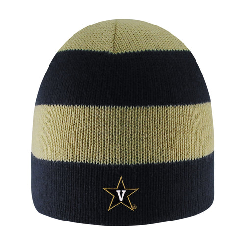 Vanderbilt University Rugby Striped Knit Beanie