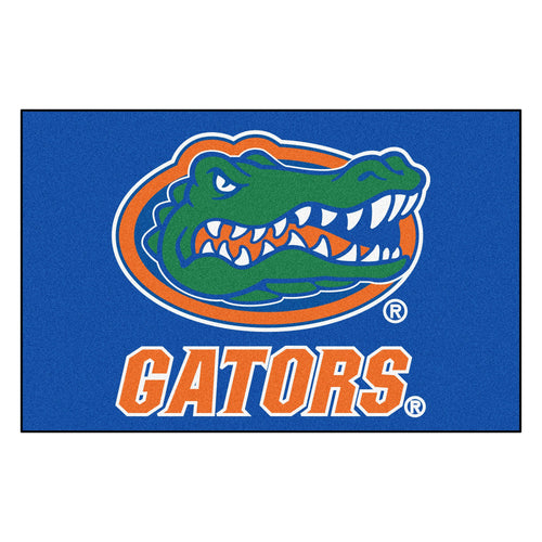University of Florida Gators Logo Area Rug