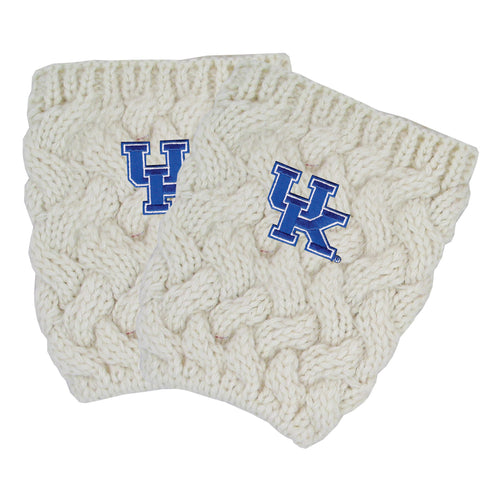 University of Kentucky Cream Boot Cuffs