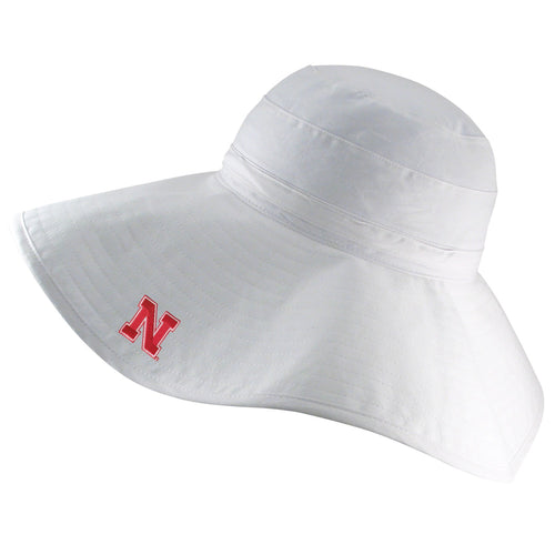 University of Nebraska Cabana Sun Hat