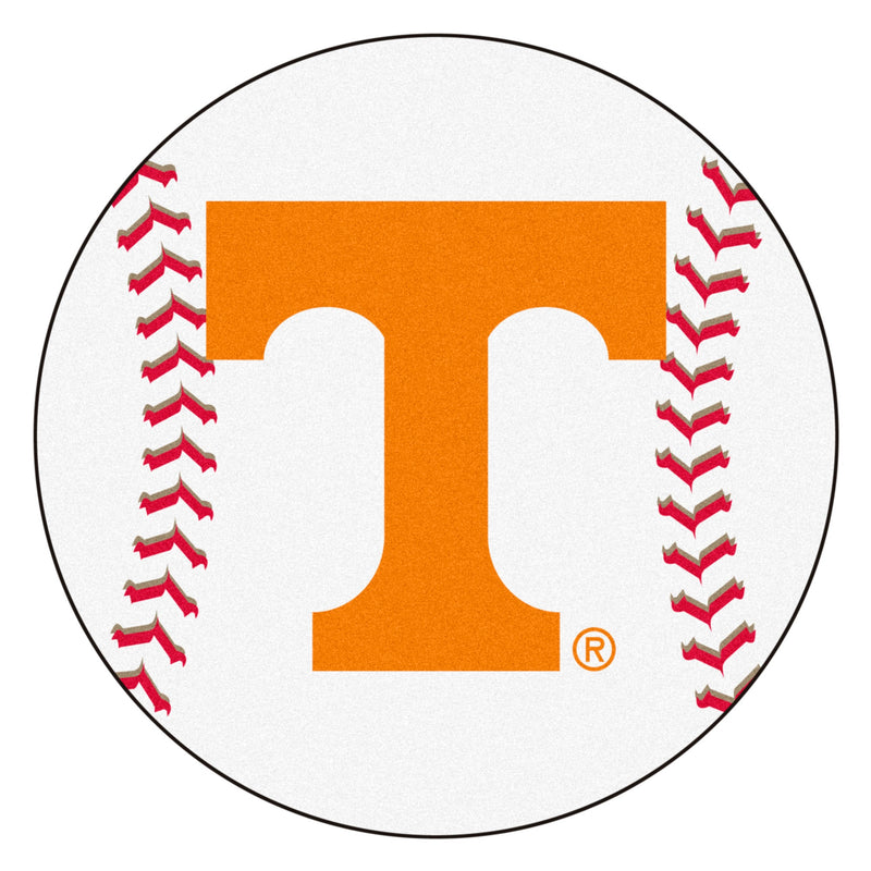 University of Tennessee Baseball Area Rug