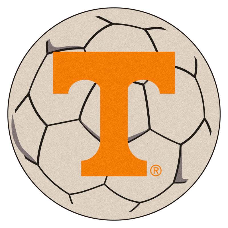 University of Tennessee Soccer Ball Rug