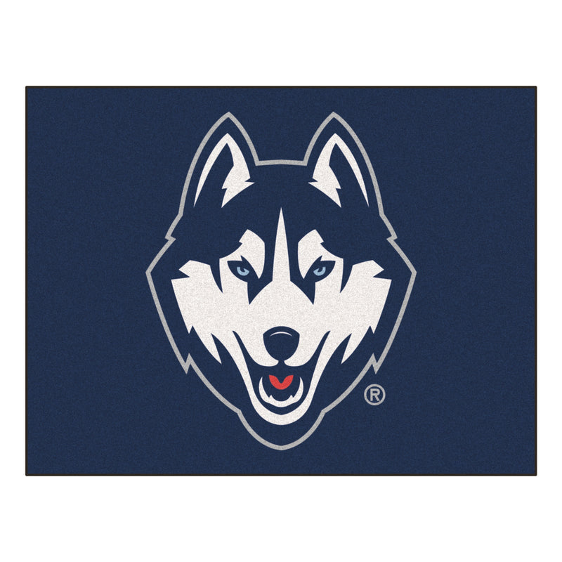 University of Connecticut Logo Area Rug