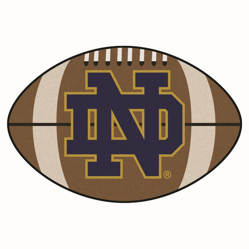 University of Notre Dame Football Area Rug