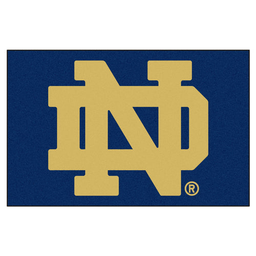 University of Notre Dame Logo Area Rug