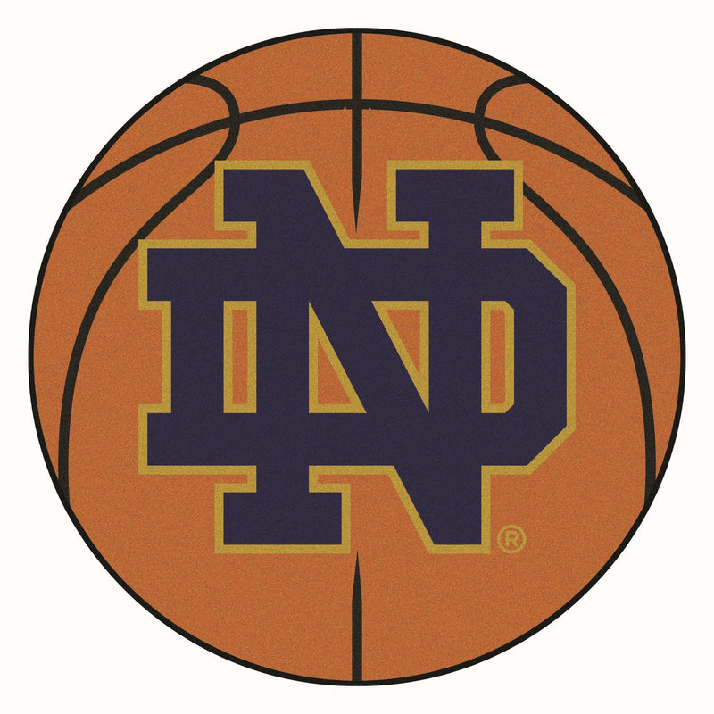 University of Notre Dame Basketball Area Rug