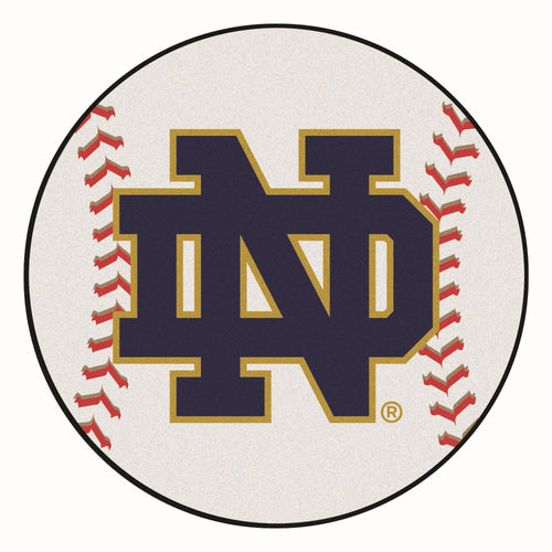University of Notre Dame Baseball Area Rug