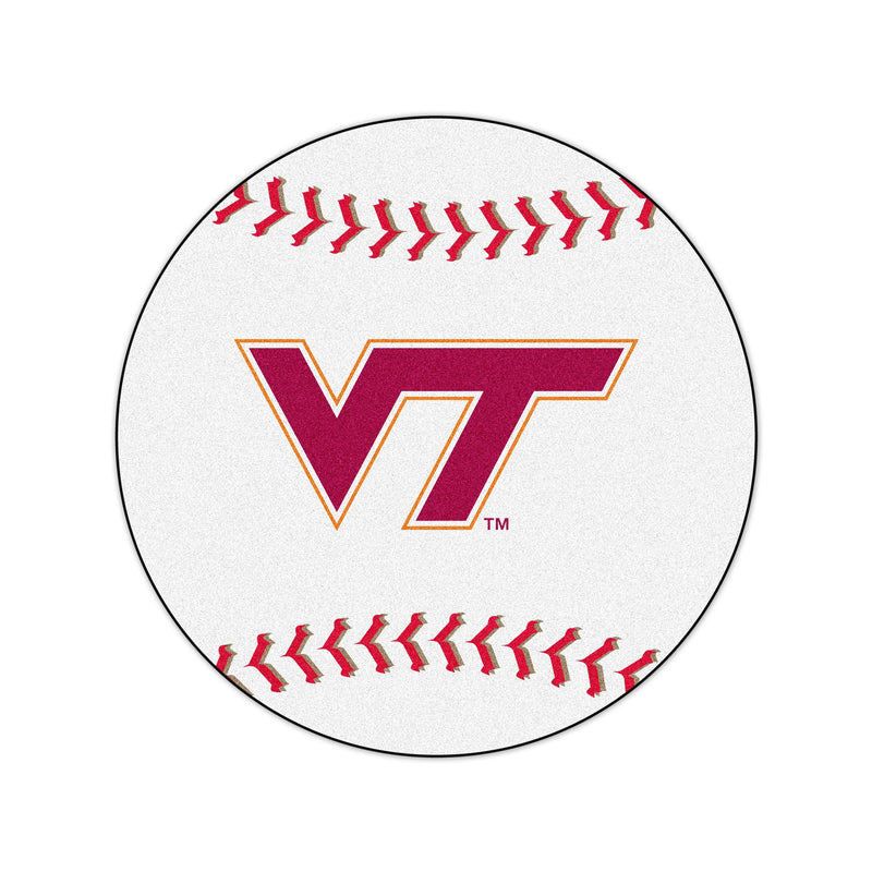 Virginia Tech University Baseball Area Rug