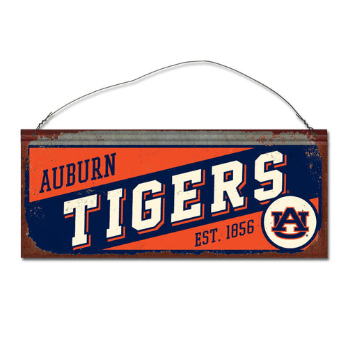 Auburn University Small Slant Sign