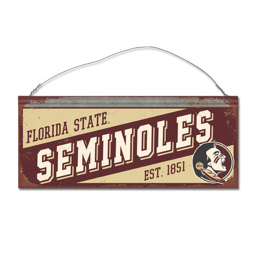 Florida State University Small Slant Sign