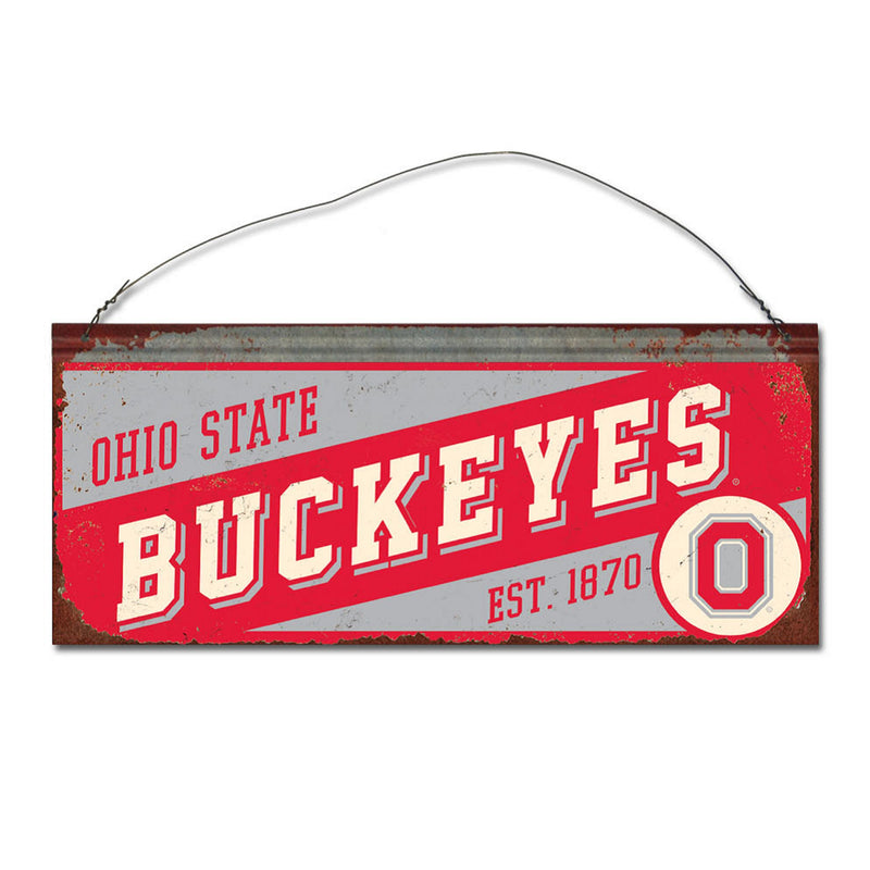 Ohio State University Small Slant Sign
