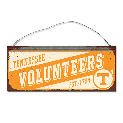 University of Tennessee Small Slant Sign