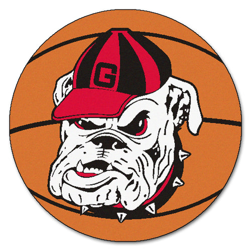 University of Georgia Bulldogs Basketball Area Rug