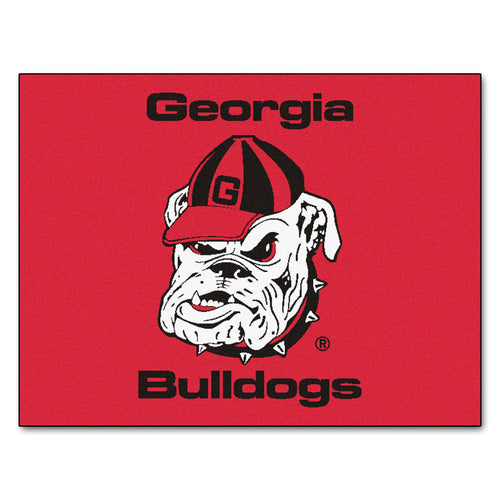 University of Georgia Bulldogs Logo Area Rug