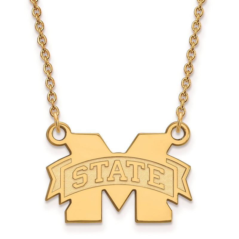 Mississippi State University Pendant Necklace