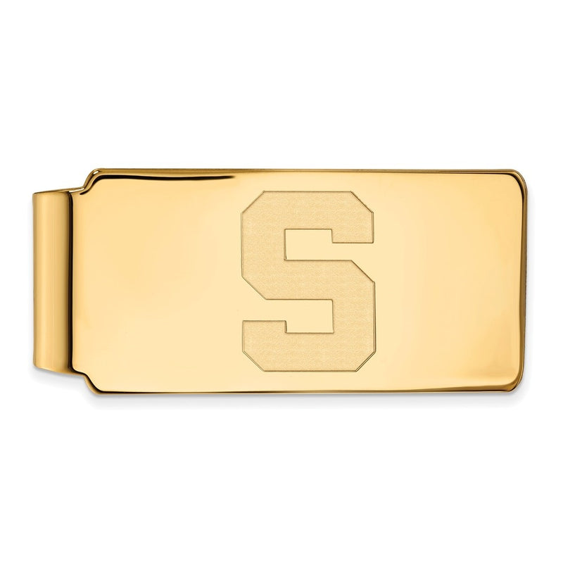 Michigan State University Spartans Logo Money Clip