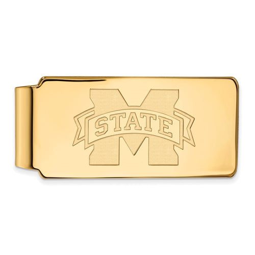 Mississippi State University Bulldogs Logo Money Clip