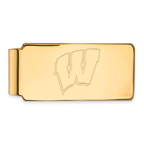 University of Wisconsin Badgers Logo Money Clip