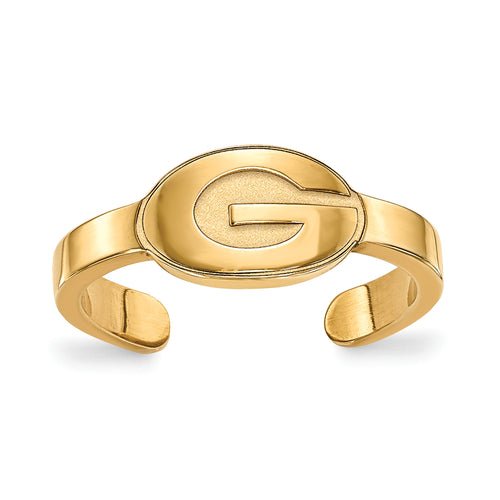 University of Georgia Toe Ring