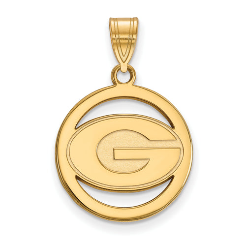 University of Georgia Pendant in Circle