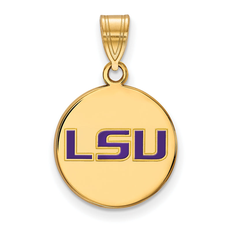 Louisiana State University Disc Pendant