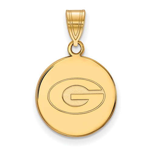 University of Georgia Bulldogs Disk Pendant