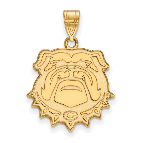"University of Georgia Bulldogs ""Bulldog"" Pendant Charm"