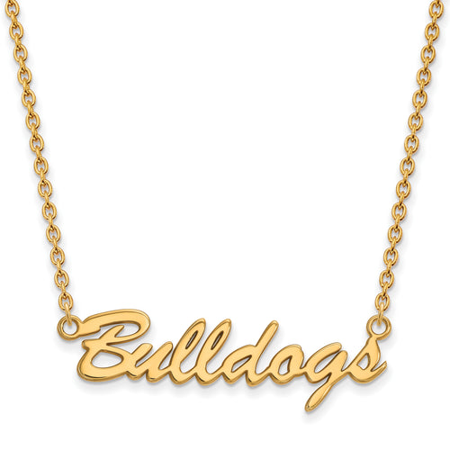 University of Georgia Bulldogs Pendant Necklace