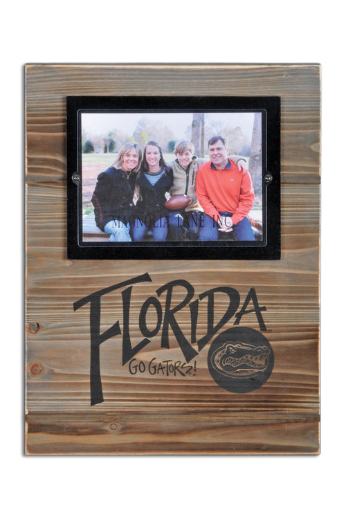 University of Florida Wood Plank Frame